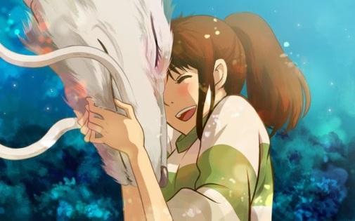 a-viagem-de-chihiro-haku-dragão-chihiro
